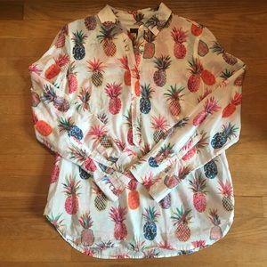 JCREW Ratti print blouse